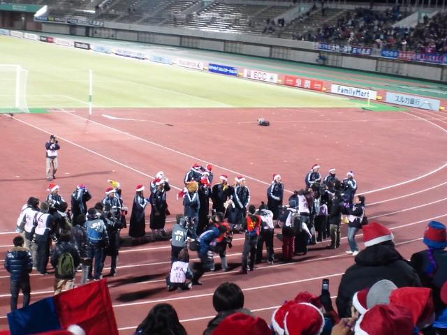 天皇杯準々決勝アビスパ福岡戦