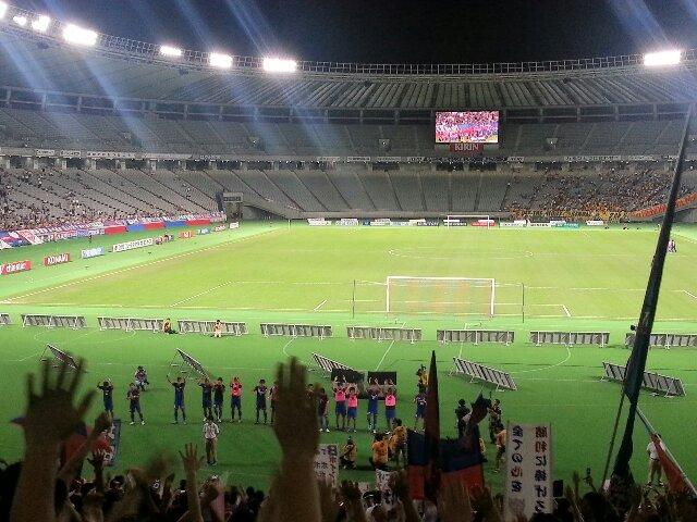 ナビスコ準々決勝 2nd leg <br />  ベガルタ仙台戦
